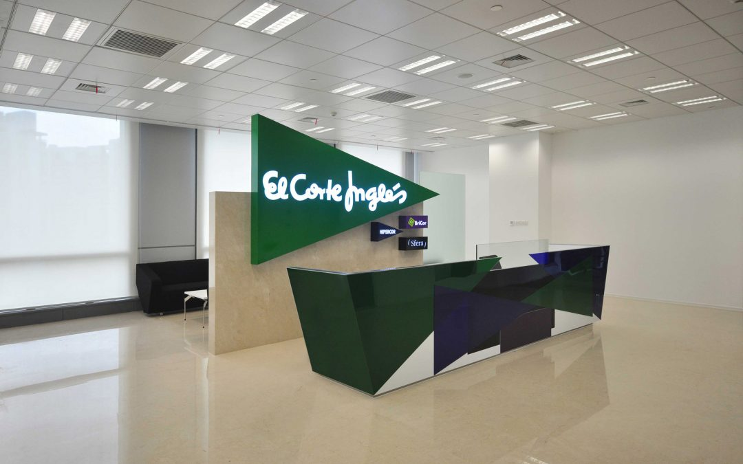 Completed the offices of El Corte Inglés in Shanghai