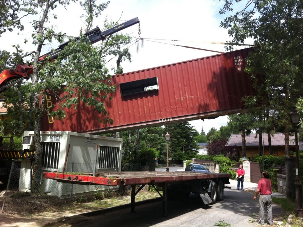 Container House project begins