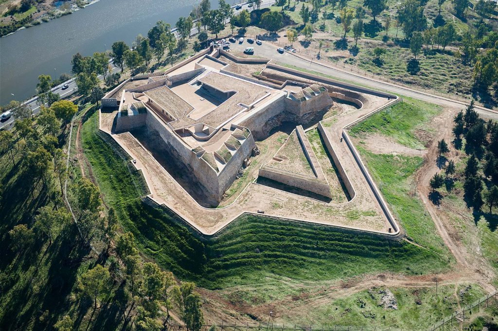 The first phase of the Fuerte de San Cristóbal is completed