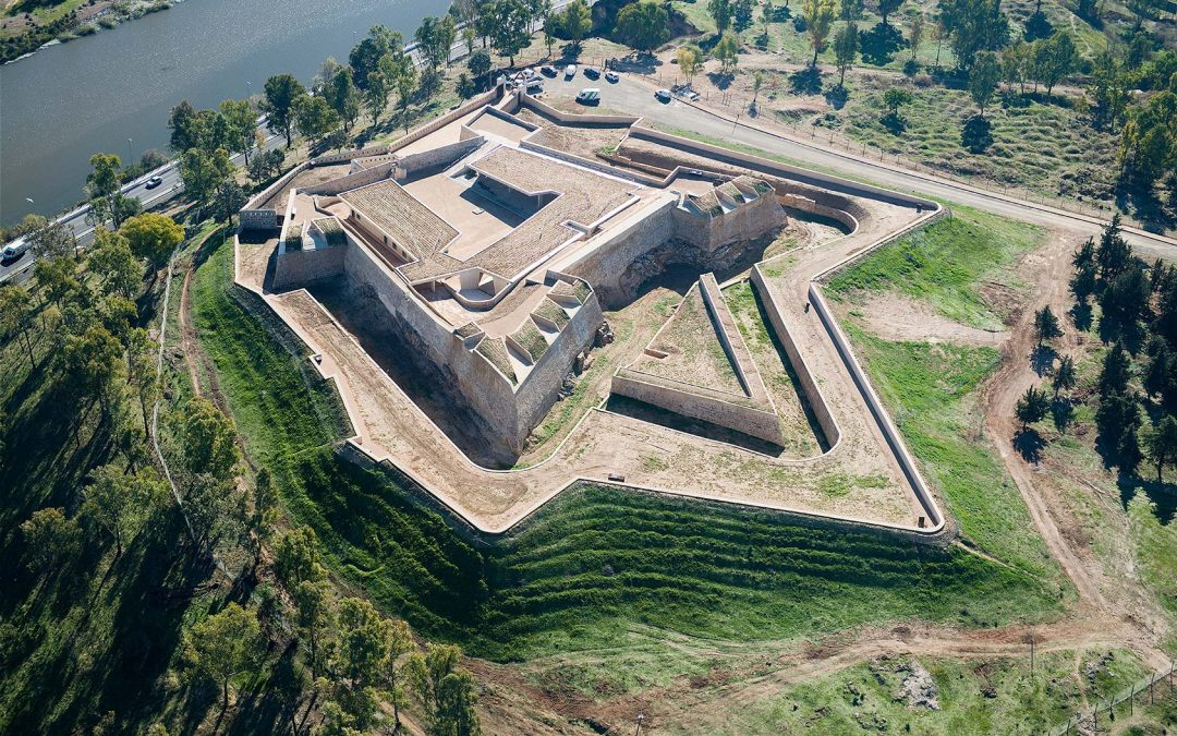 Se completa la primera fase del fuerte de San Cristóbal