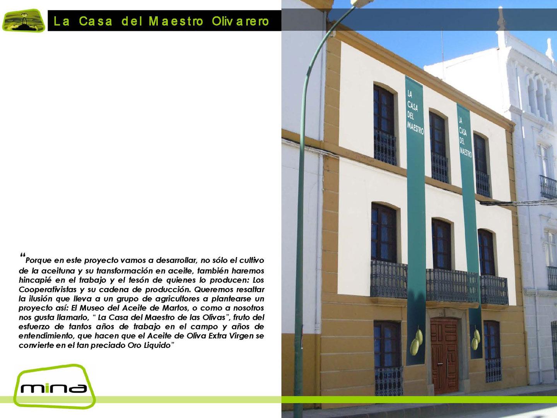 Casa Maestro Olivarero Cooperativa San Amador 01